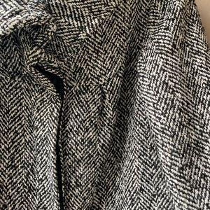 Tweed 3/4 length fall jacket